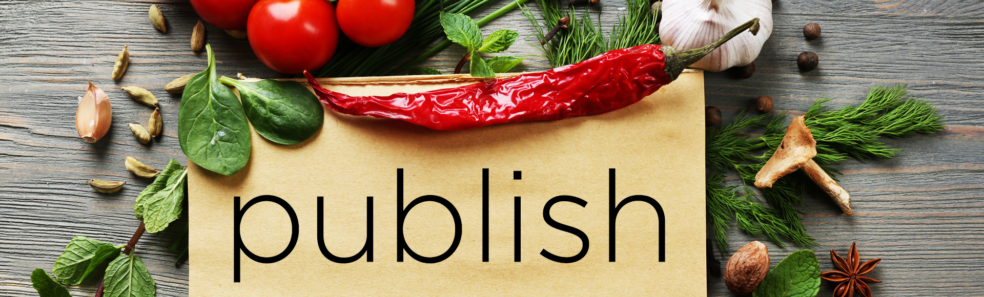 Publish your Recipes to the World on MySousChef